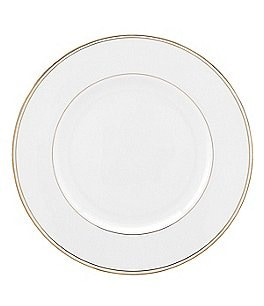 Image of Lenox Federal Gold Bone China Dinner Plate
