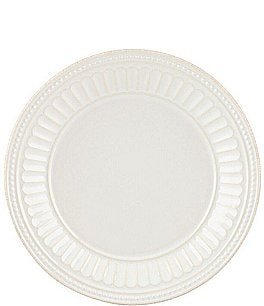 Image of Lenox French Perle Groove Stoneware Dessert Plate