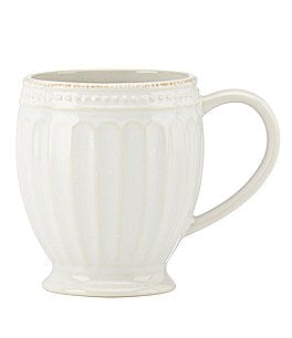 Image of Lenox French Perle Groove Stoneware Everything Mug