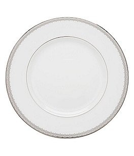 Image of Lenox Lace Couture Platinum Dinner Plate