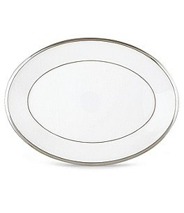 Image of Lenox Solitaire® White Oval Platter