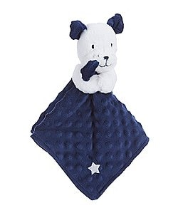 Image of Little Me Baby Boys Puppy Toile Puppy Snuggle Buddy