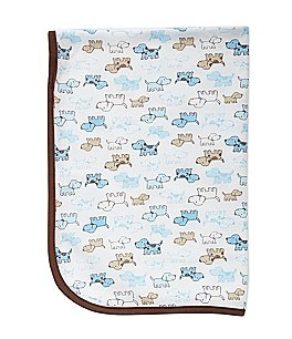 Image of Little Me Cute Puppies Blanket