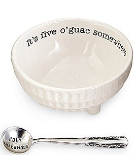Image of Mud Pie Circa Ceramic 2-Piece Guacamole Set