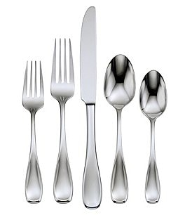 Image of Oneida Voss 45-Piece Stainless Steel Flatware Set