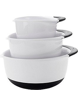Image of OXO Good Grips 3-Piece Mixing Bowl Set