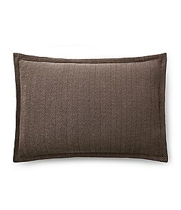Image of Ralph Lauren Modern Icons Collection Maynor Herringbone Standard Sham