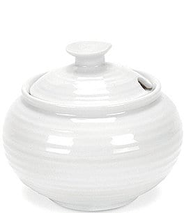 Image of Sophie Conran for Portmeirion Porcelain Sugar Bowl with Lid