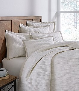Image of Southern Living Simplicity Collection Addison Taupe Coverlet