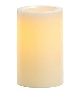 "Image of Southern Living Vanilla-Scented 4"" Flameless Candle"