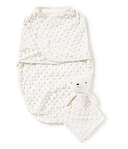 Image of Starting Out Dotted Blanket & Blanket Buddy Set