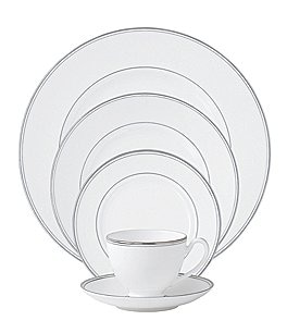 Image of Waterford Kilbarry Platinum 5-Piece Place Setting