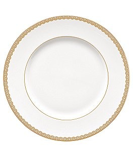 Image of Waterford Lismore Lace Gold Dinner Plate