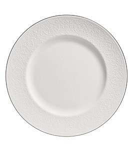 Image of Wedgwood English Lace Bone China Dinner Plate