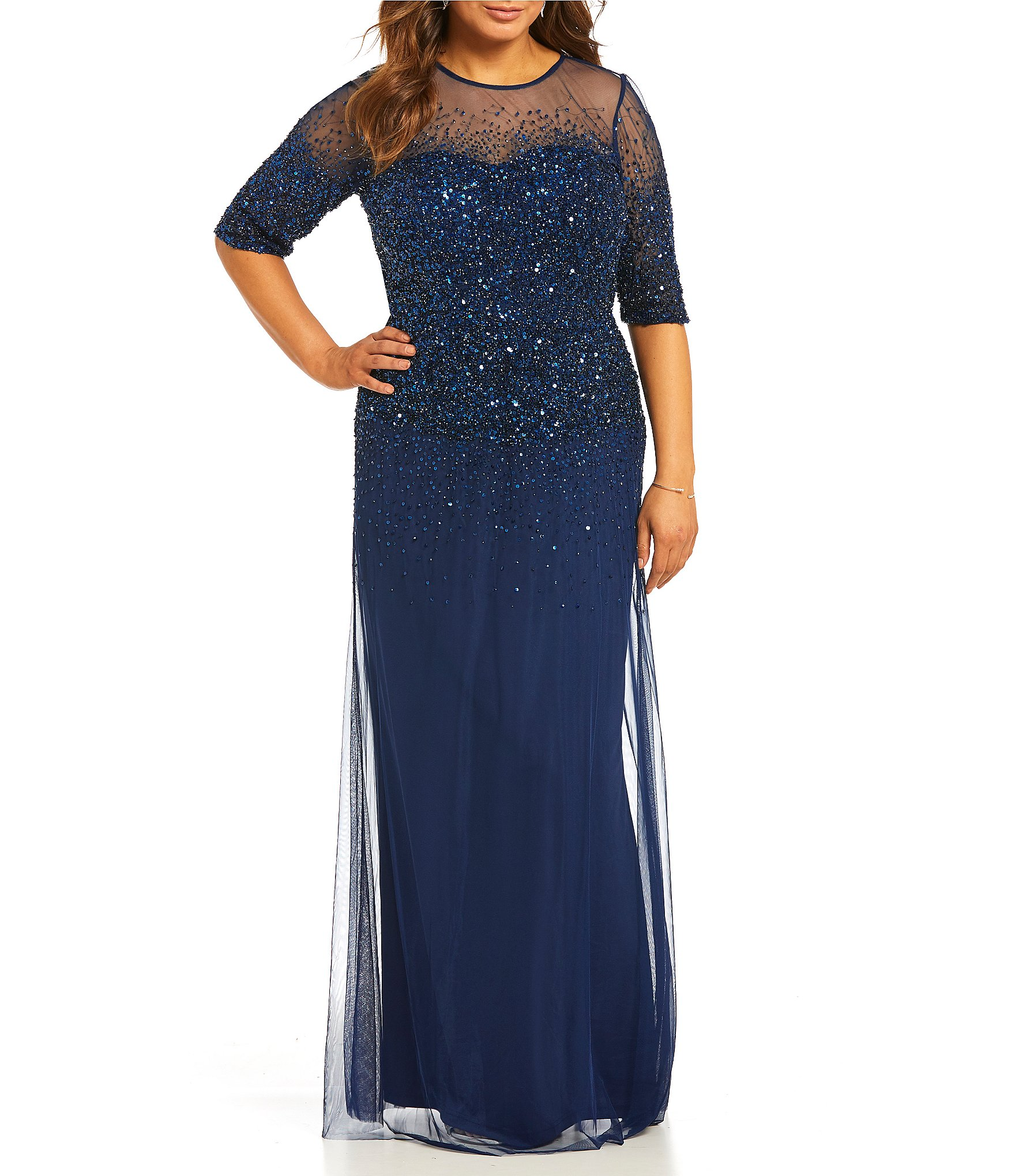 women's plus-size dresses & gowns | dillards
