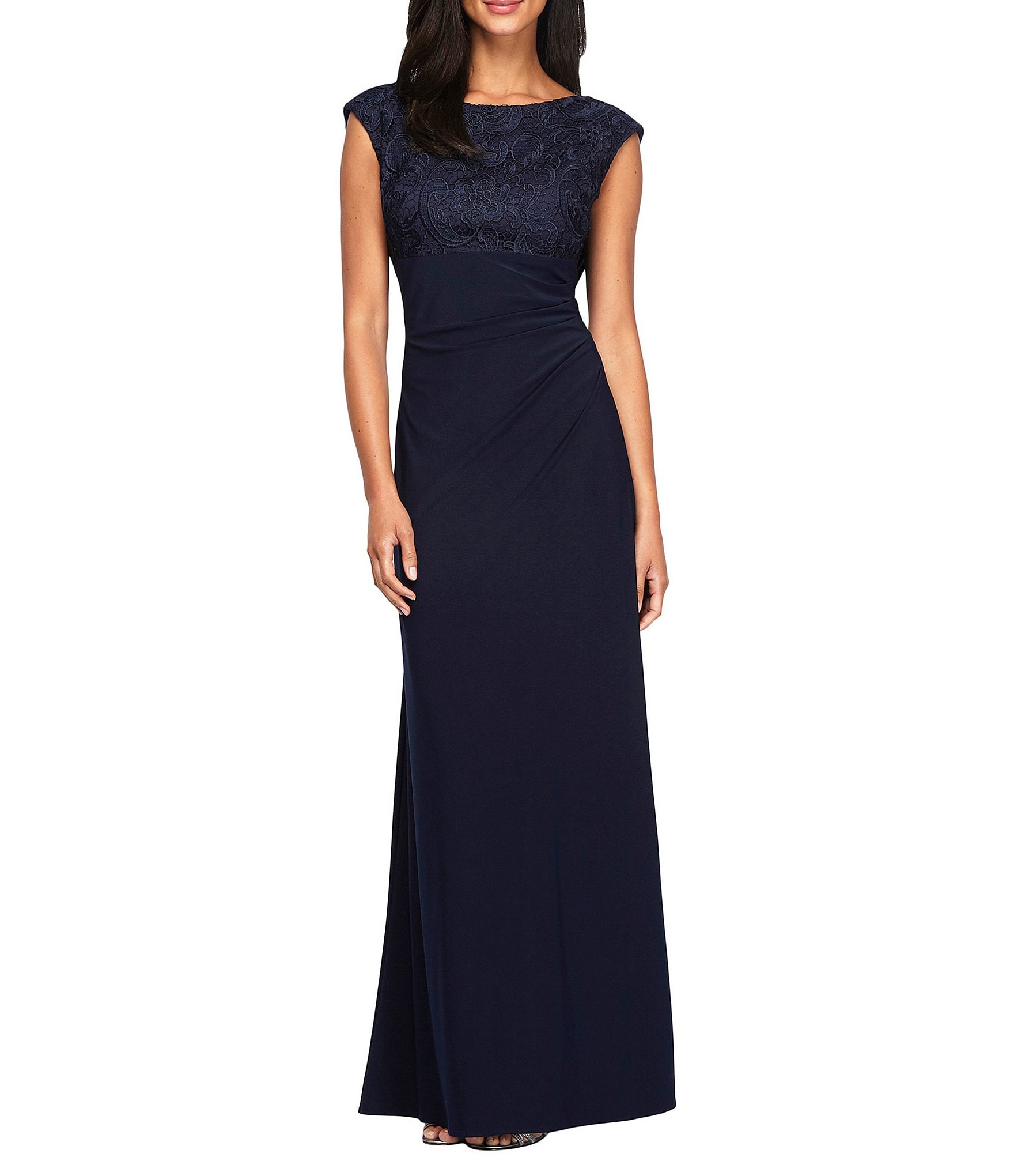 2 in 1 evening dress at dillards