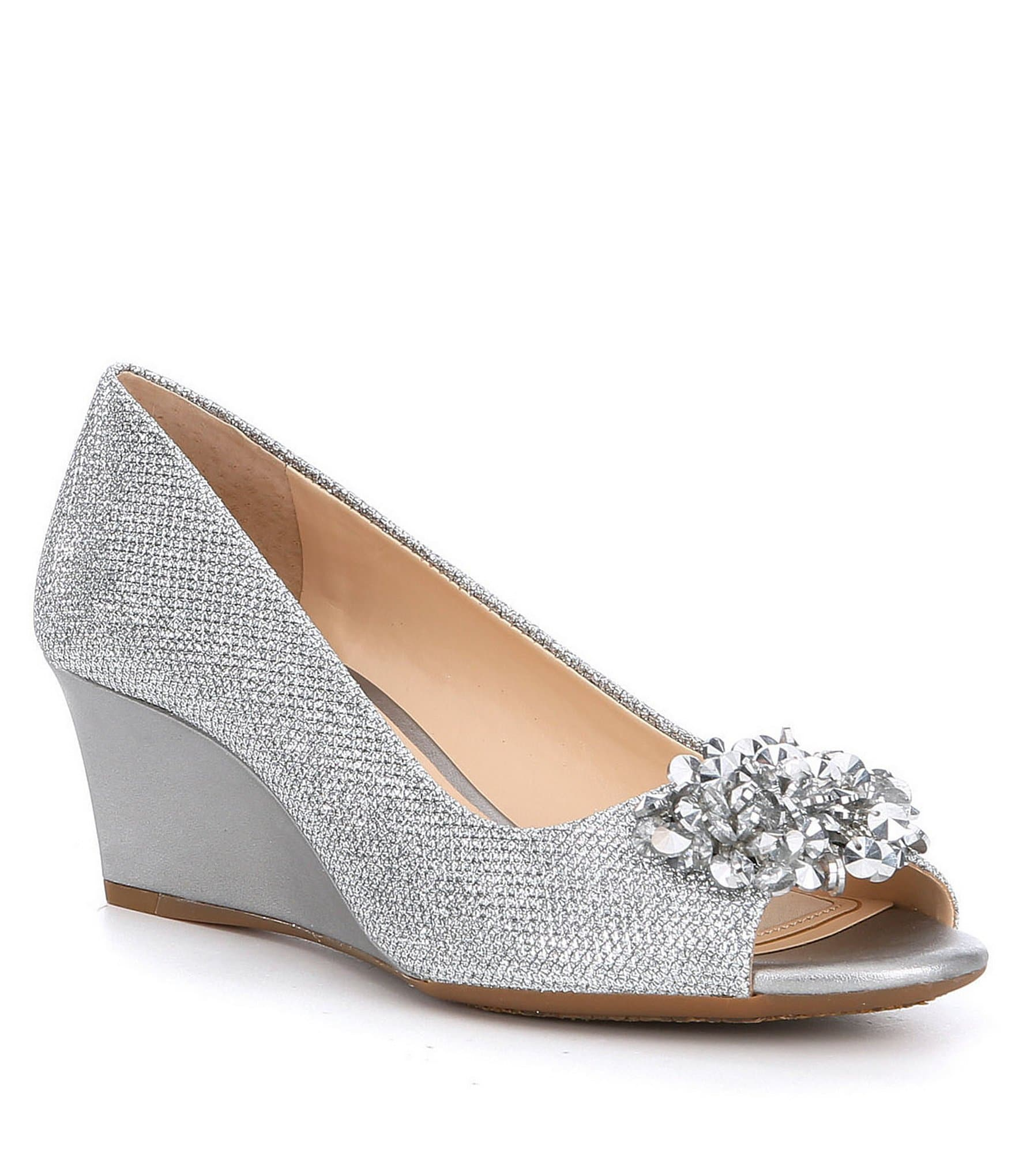 Silver Women s Special Occasion & Evening Shoes