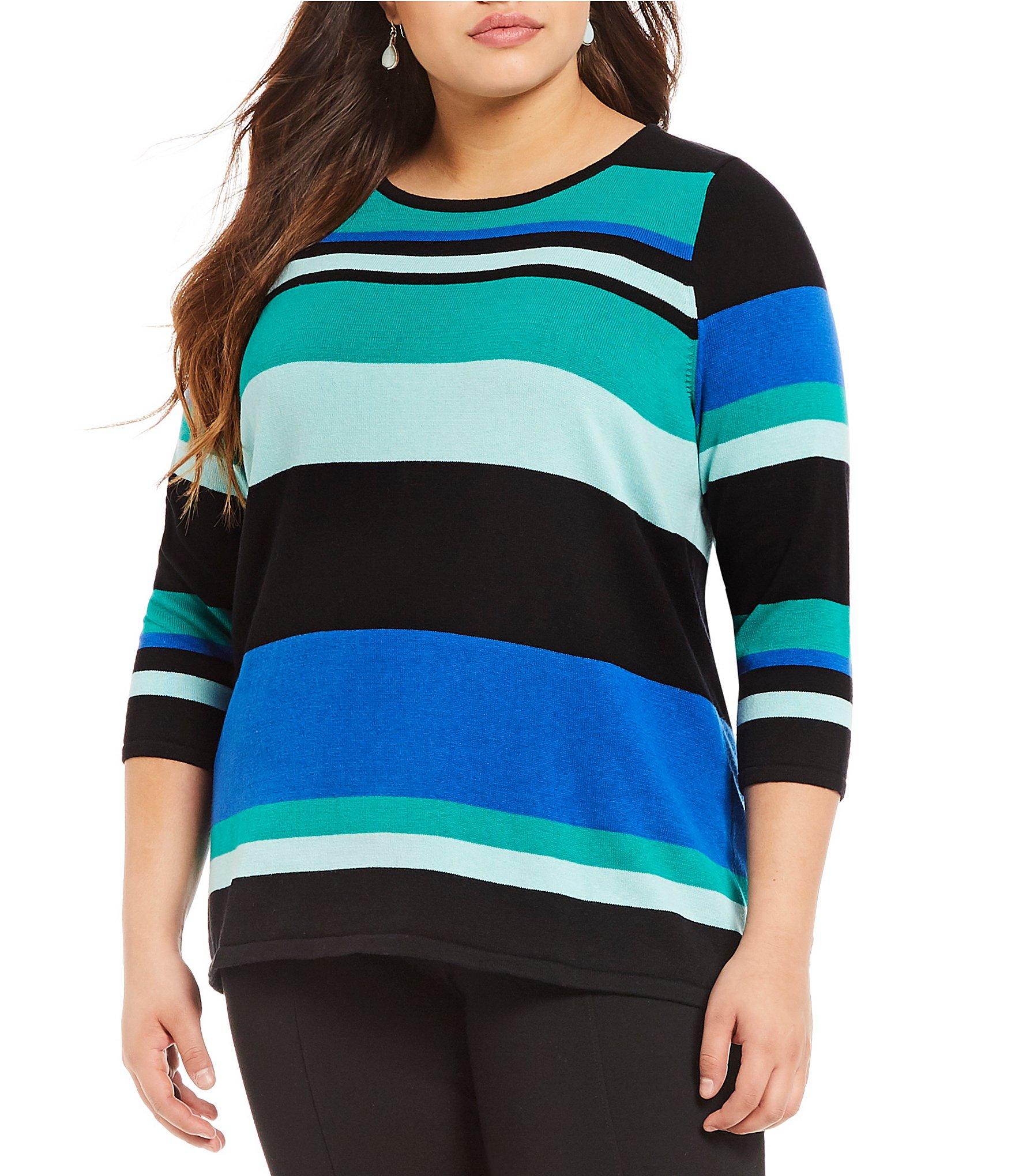 Plus-Size Sweaters, Shrugs & Cardigans | Dillards
