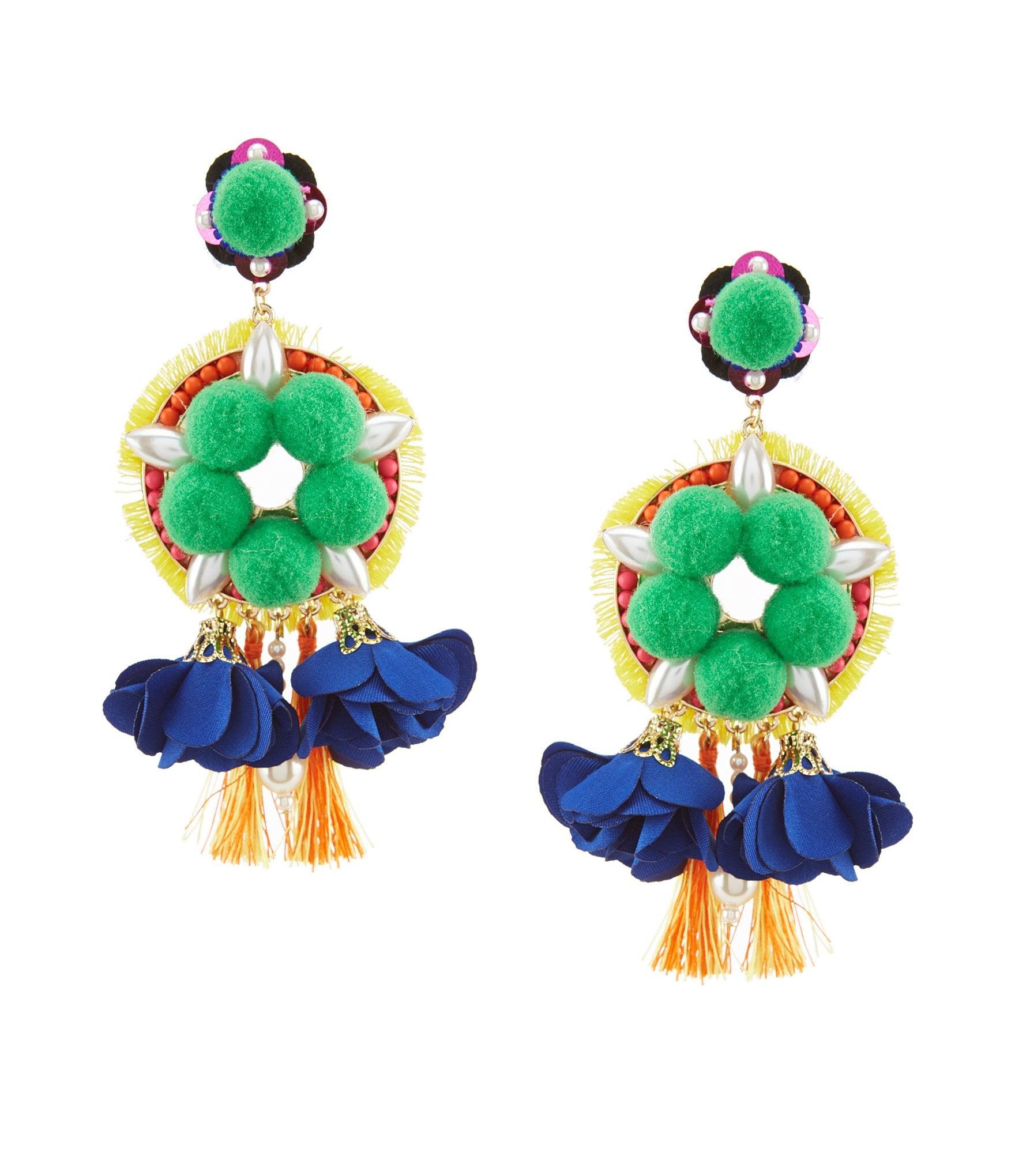 Womens chandelier earrings dillards arubaitofo Images