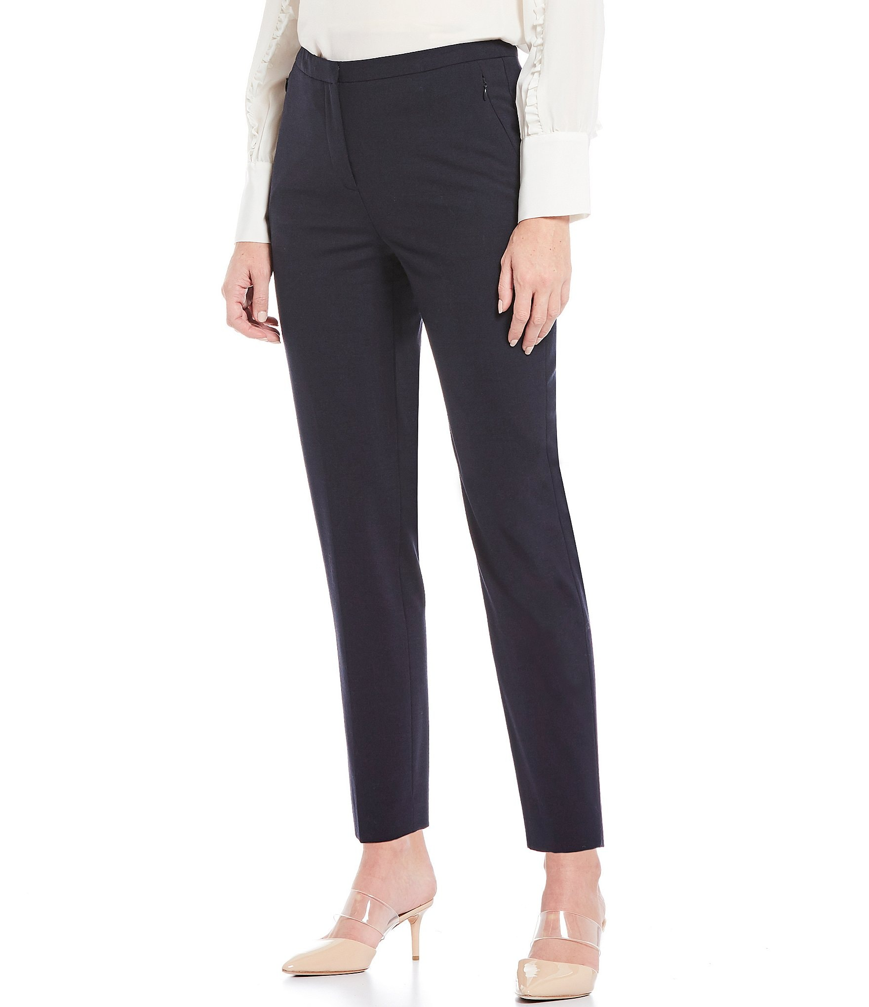 High waisted dress pants h&m