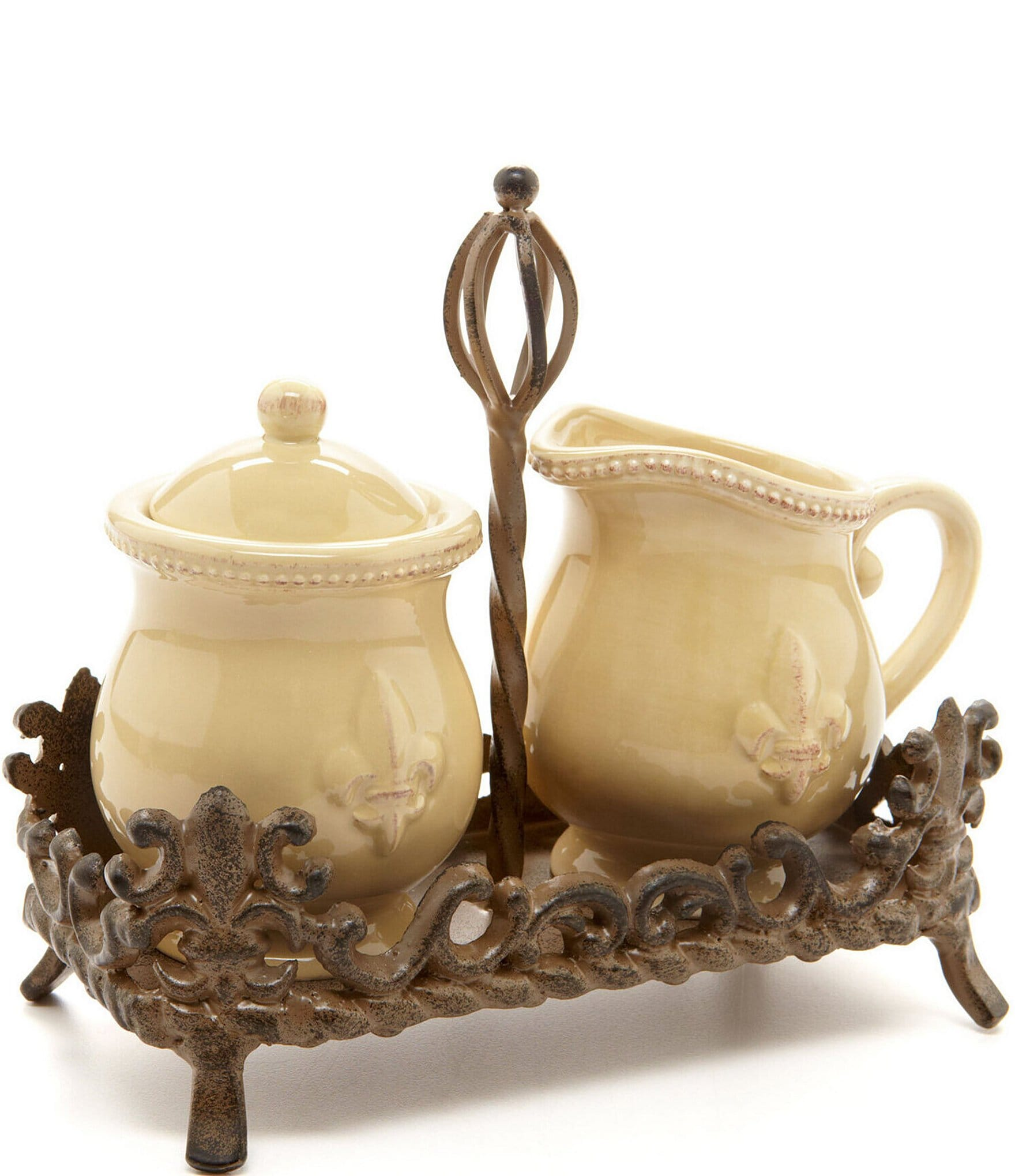 Artimino Fleur-de-Lis Earthenware Dinnerware | Dillards