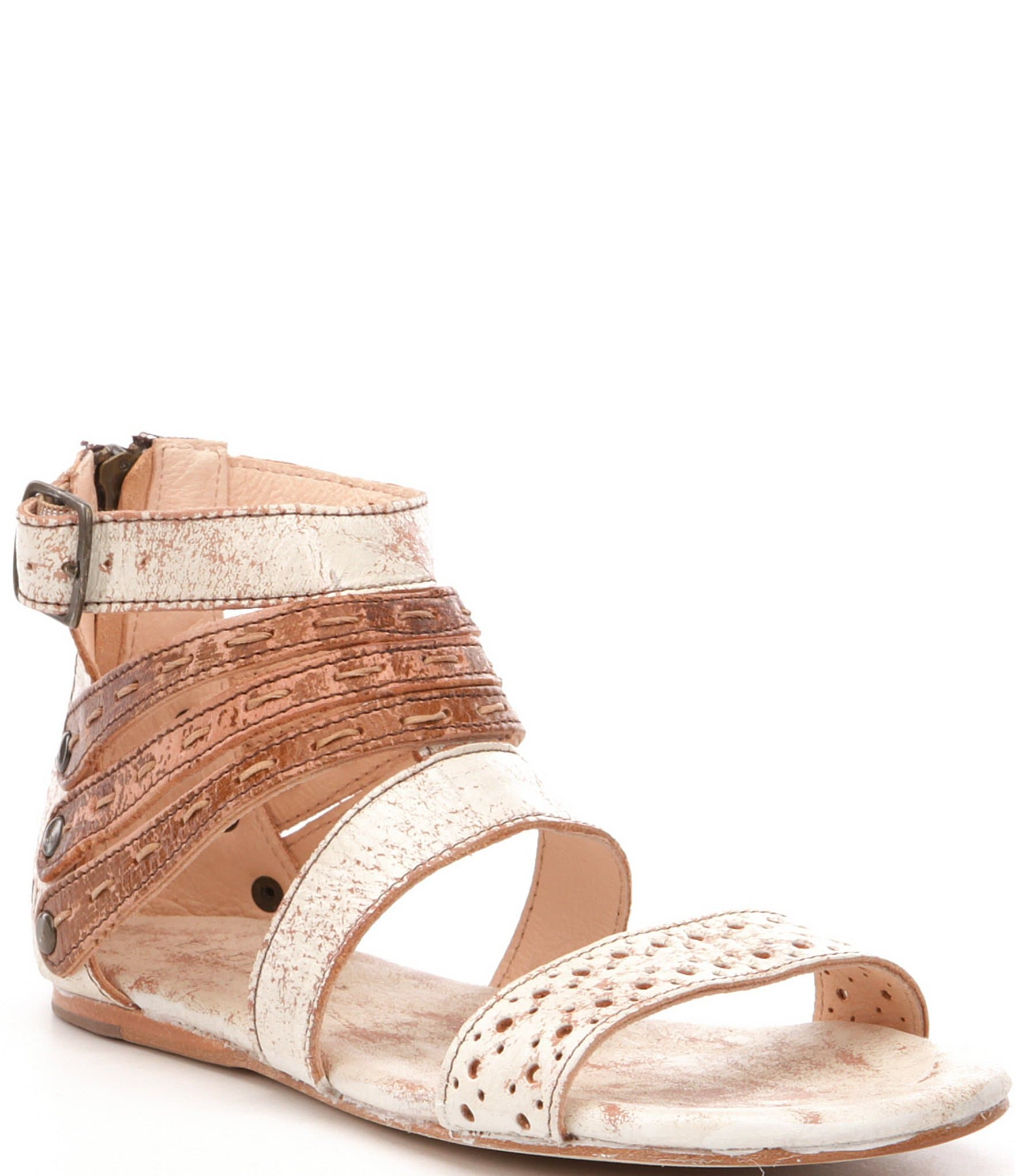 Ensley Multi-Strap Slingback Detail Sandals luvcco