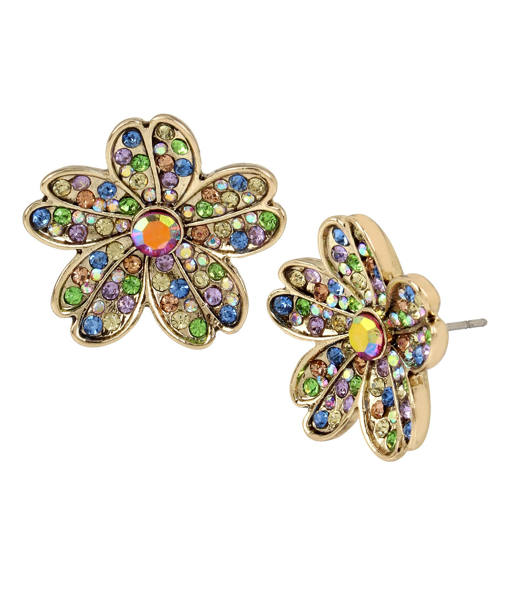 multi earrings multicolored product look chandelier colored goddess riviera