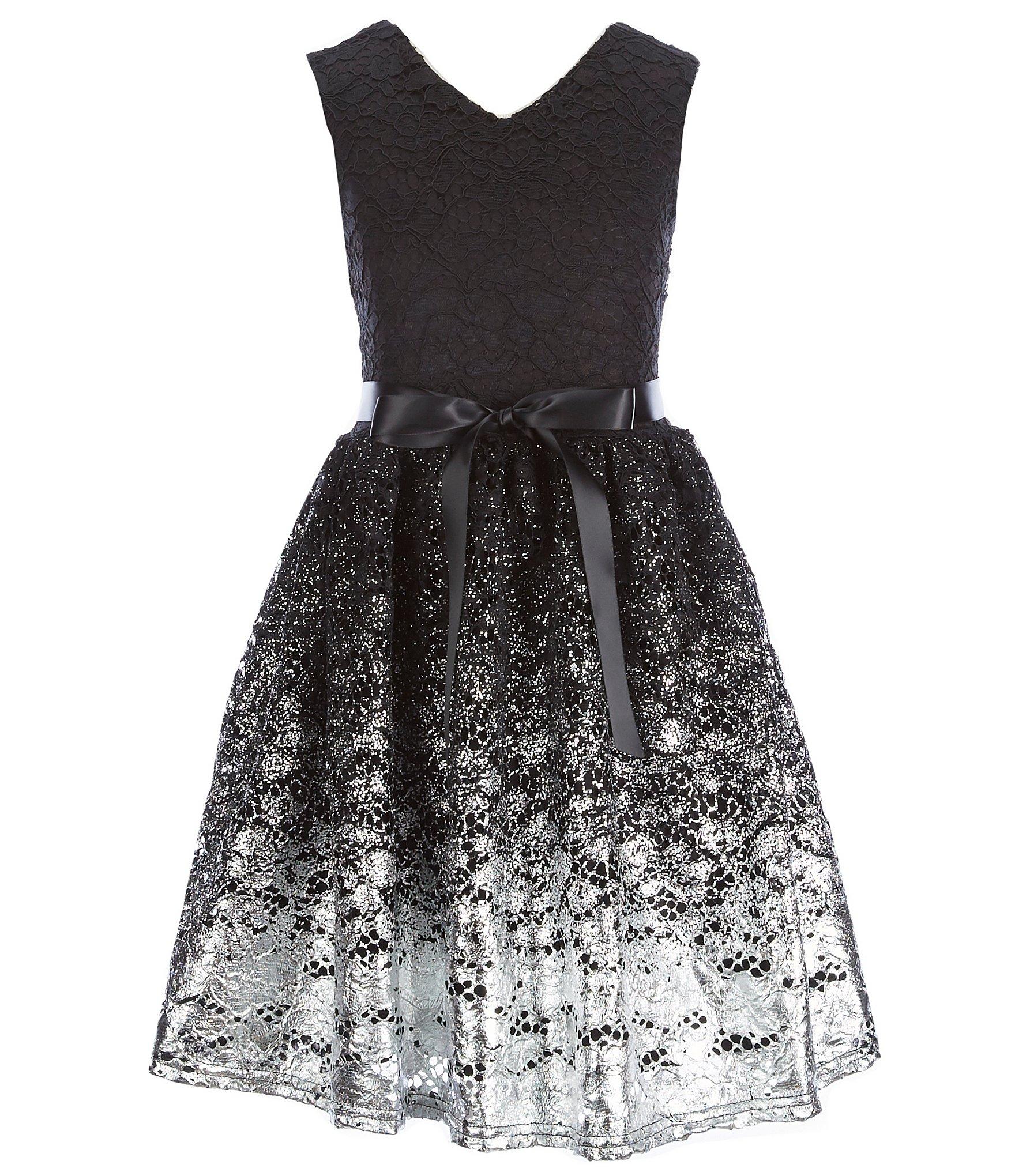 Black Dresses Collection Girls Formal Dresses 7 16 Black