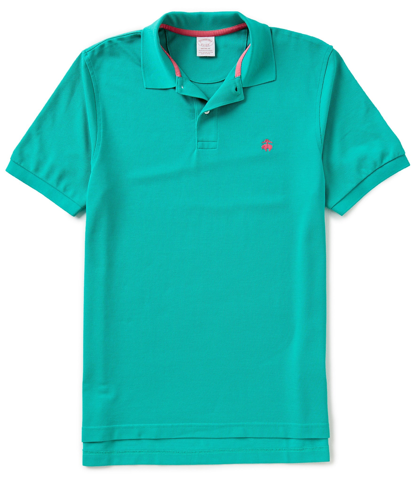 Brooks brothers golden fleece original fit supima for Youth performance polo shirts