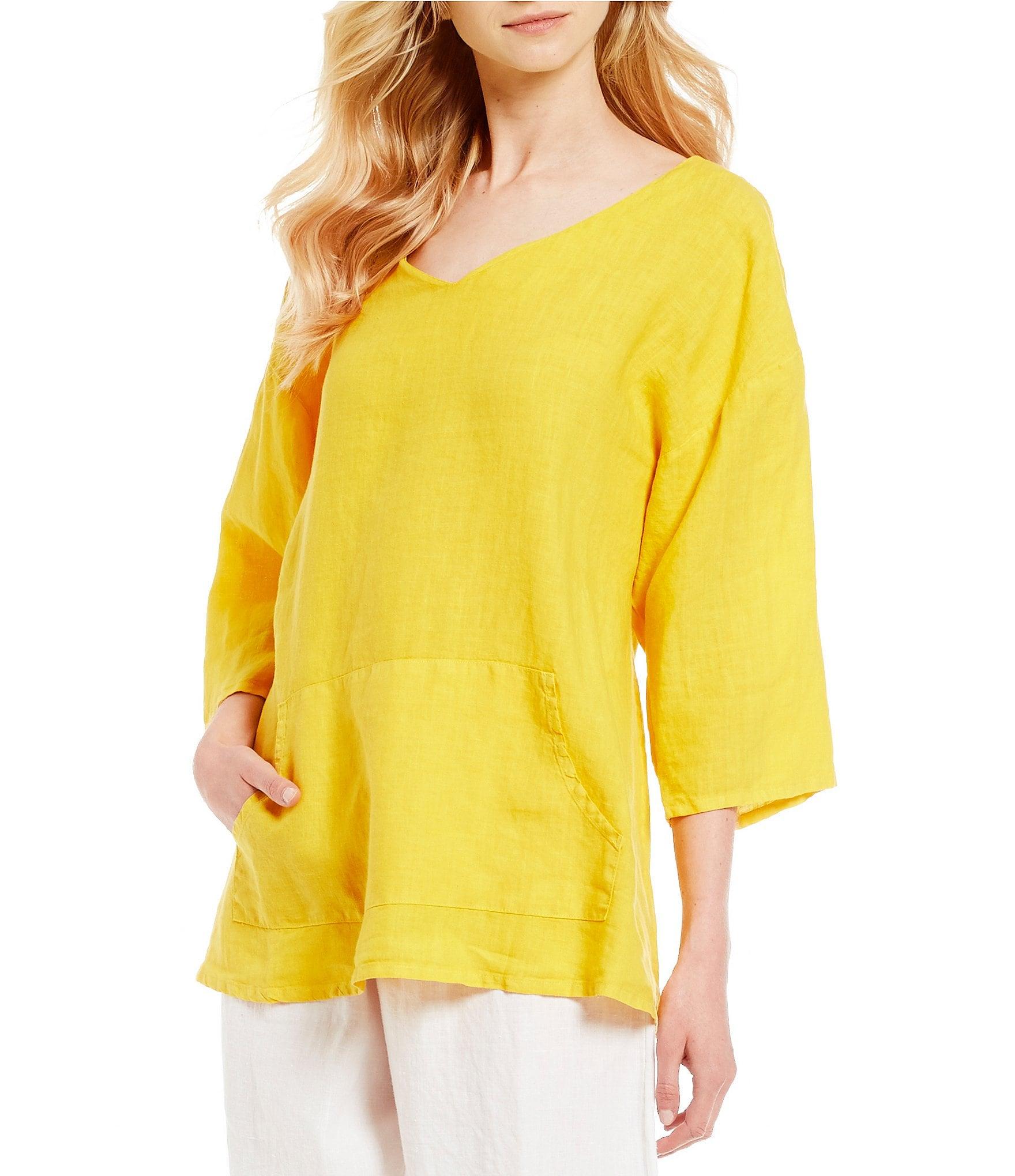 Bryn Walker Light Linen Judy Shirt