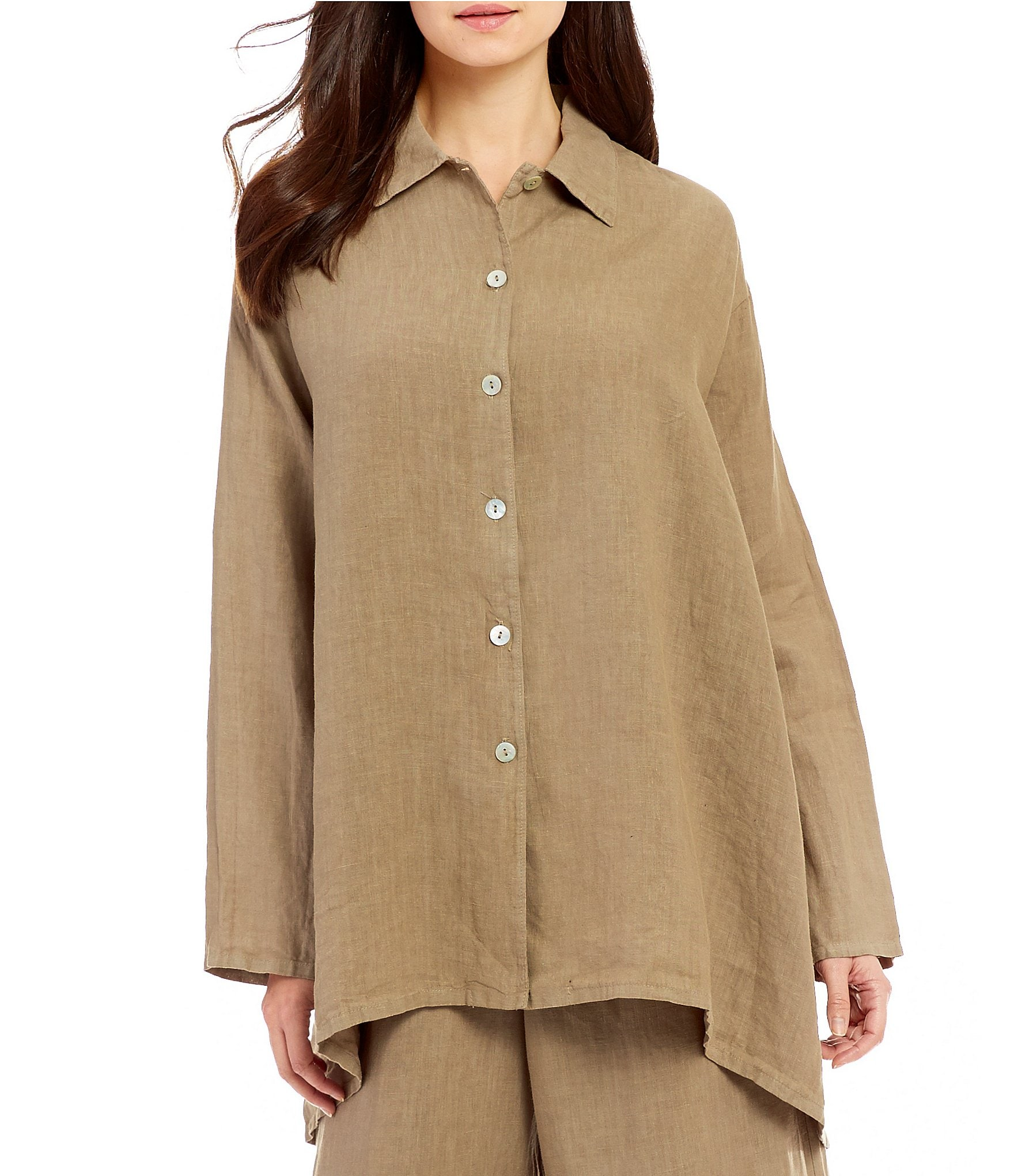 Bryn Walker Light Linen Mirren Shirt