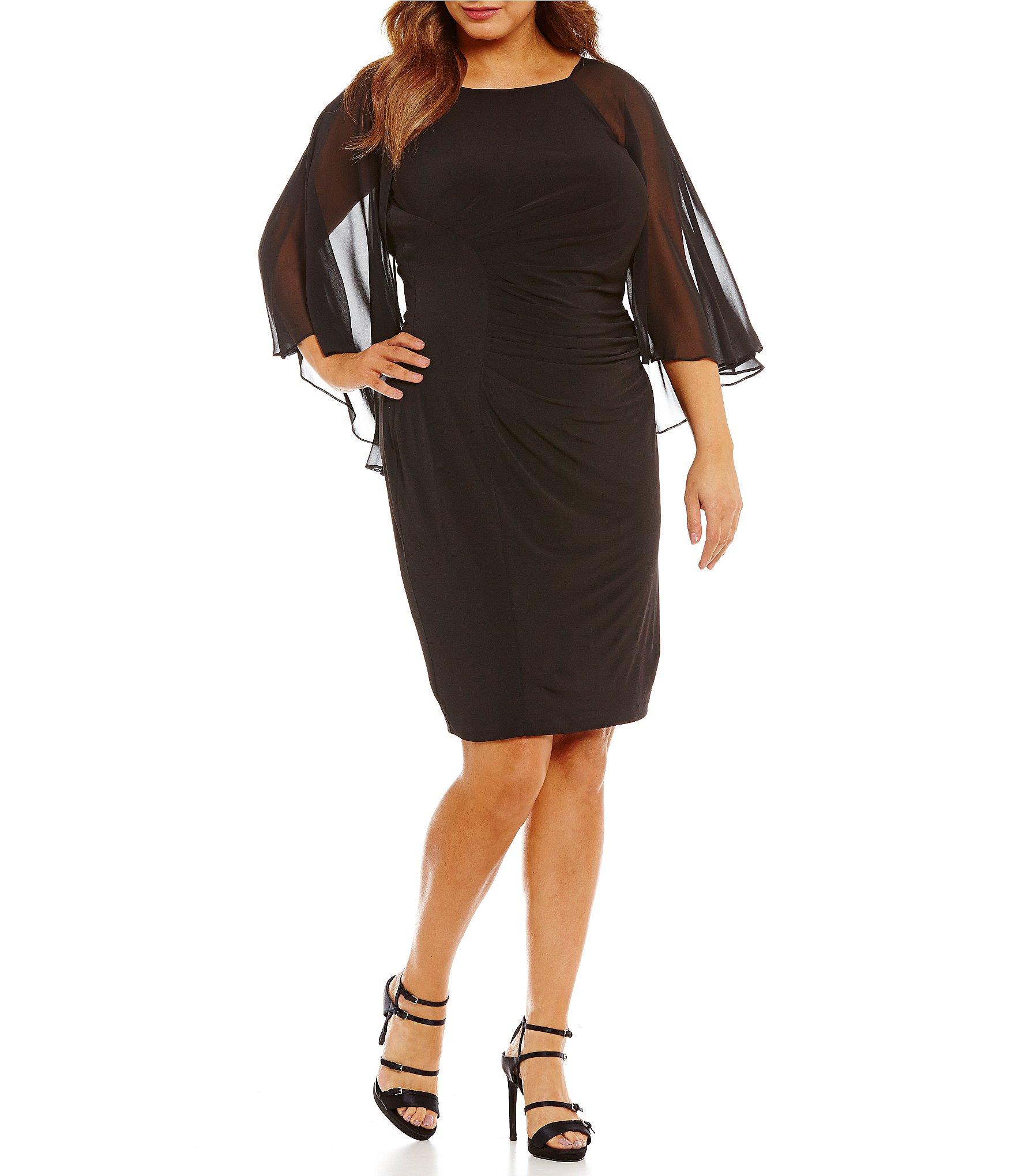 Black dress dillards young