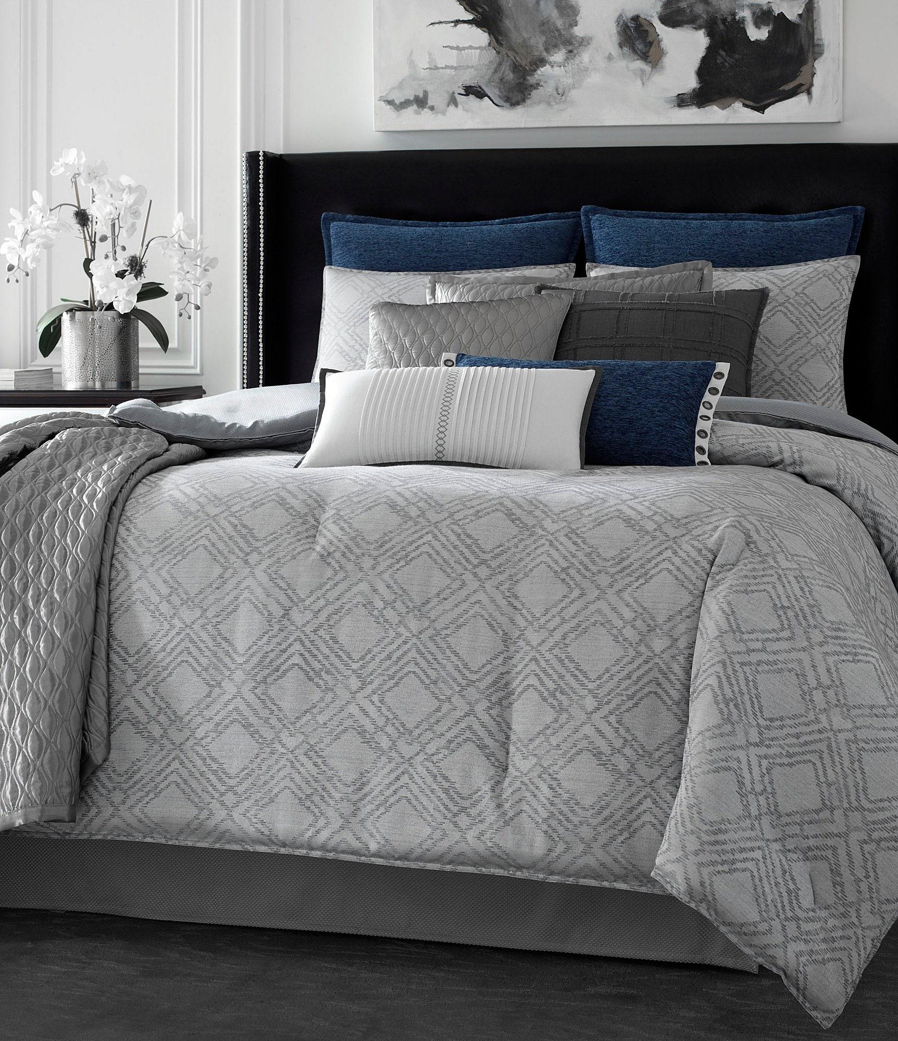 Candice Olson Finesse Geometric Jacquard Comforter Set Dillards