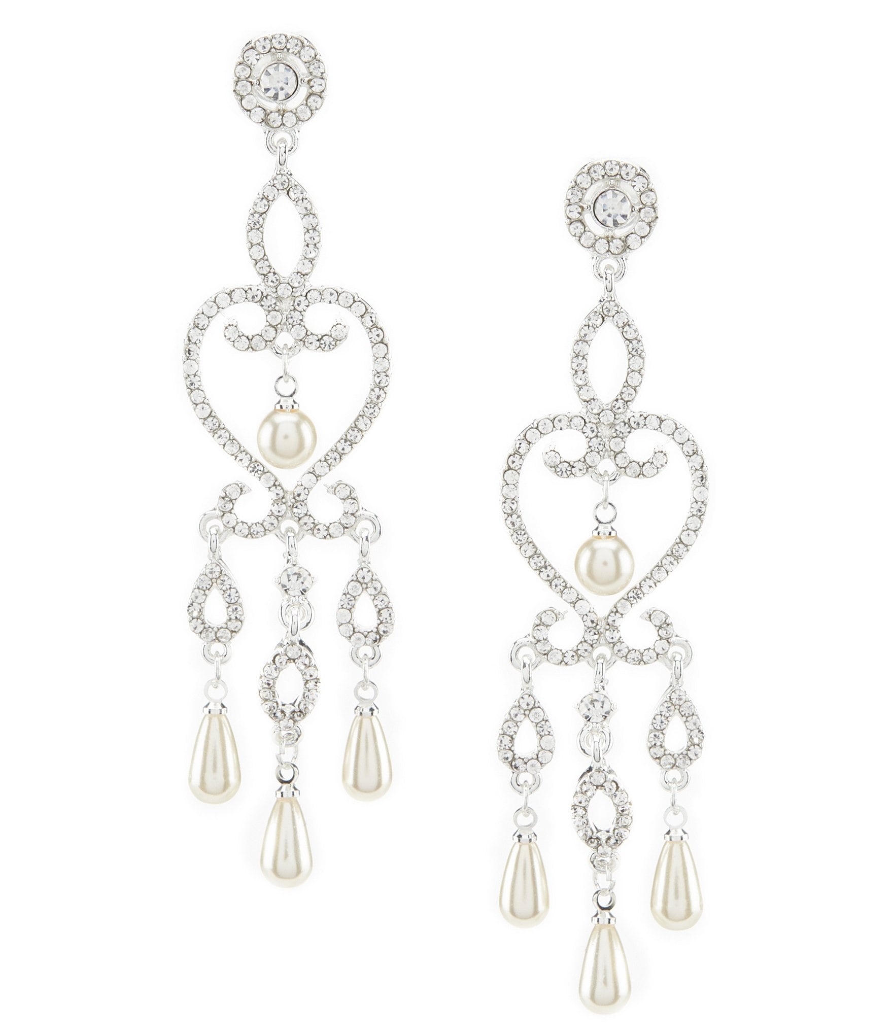 Womens chandelier earrings dillards arubaitofo Images