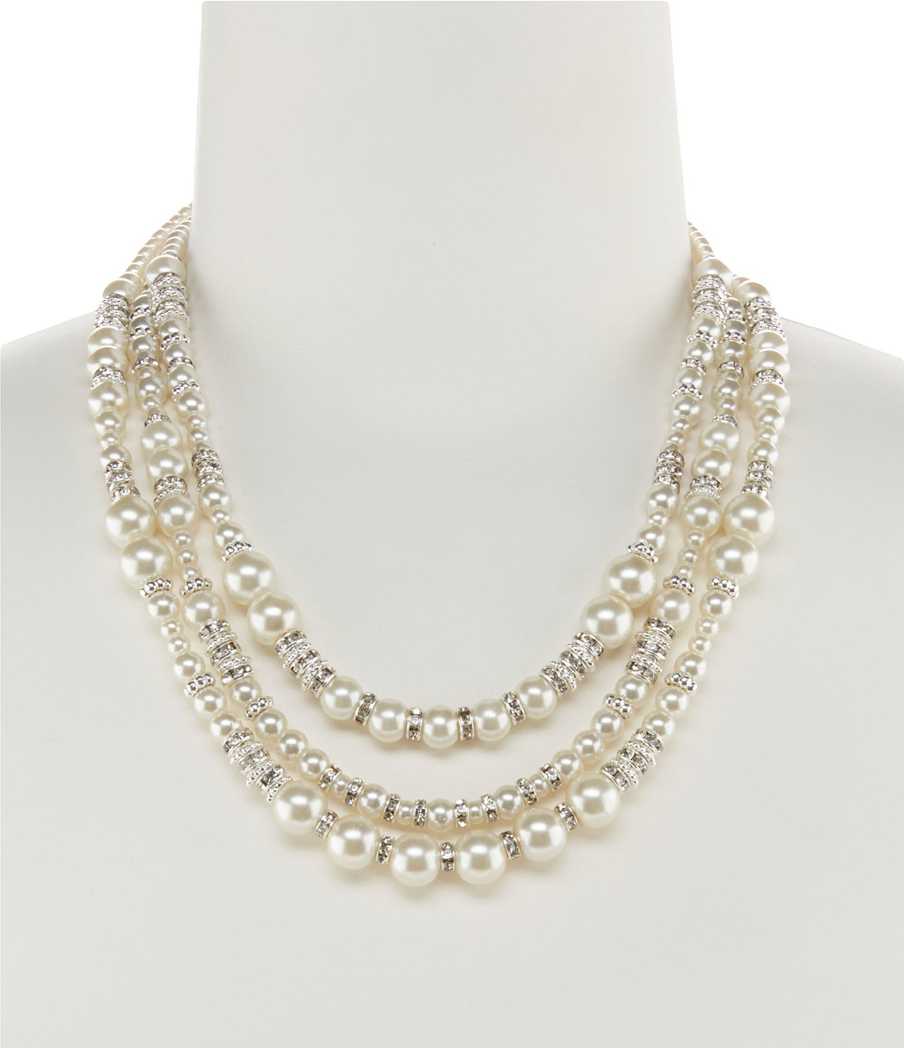 june sablan shop doubled classic main necklace pearl inspired designs chanel design faux