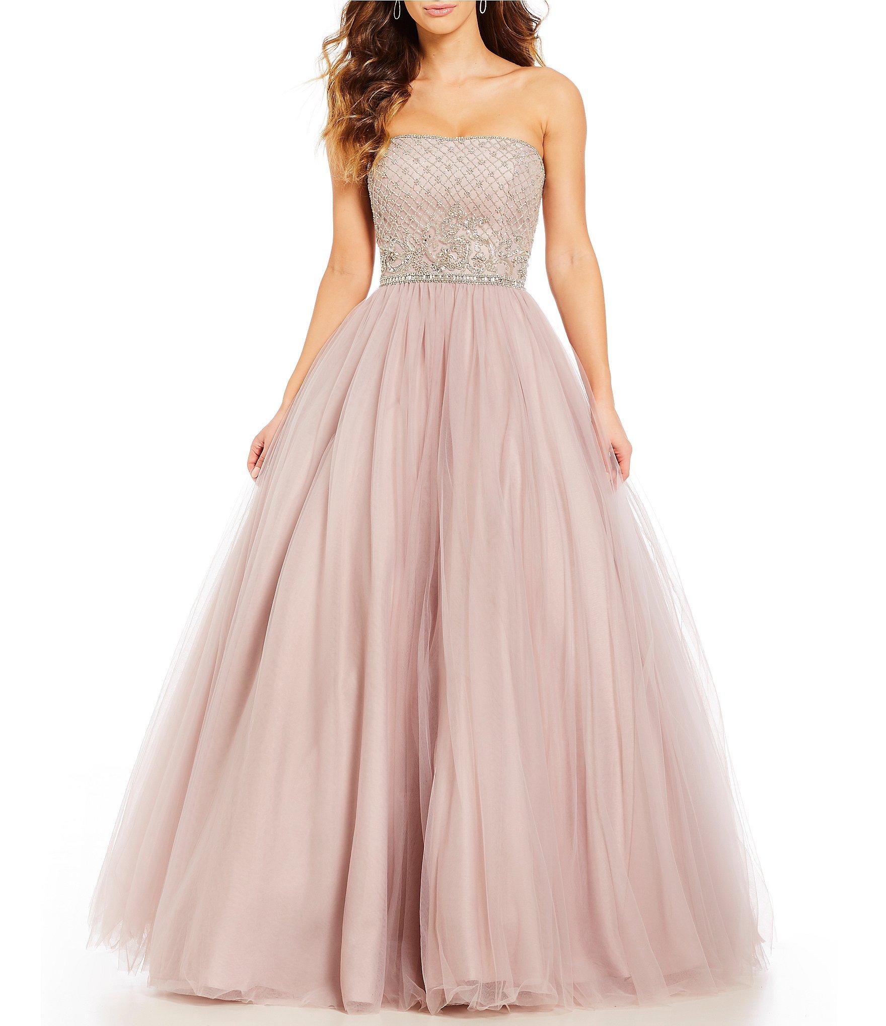 Juniors\' Long Prom & Formal Dresses   Dillards