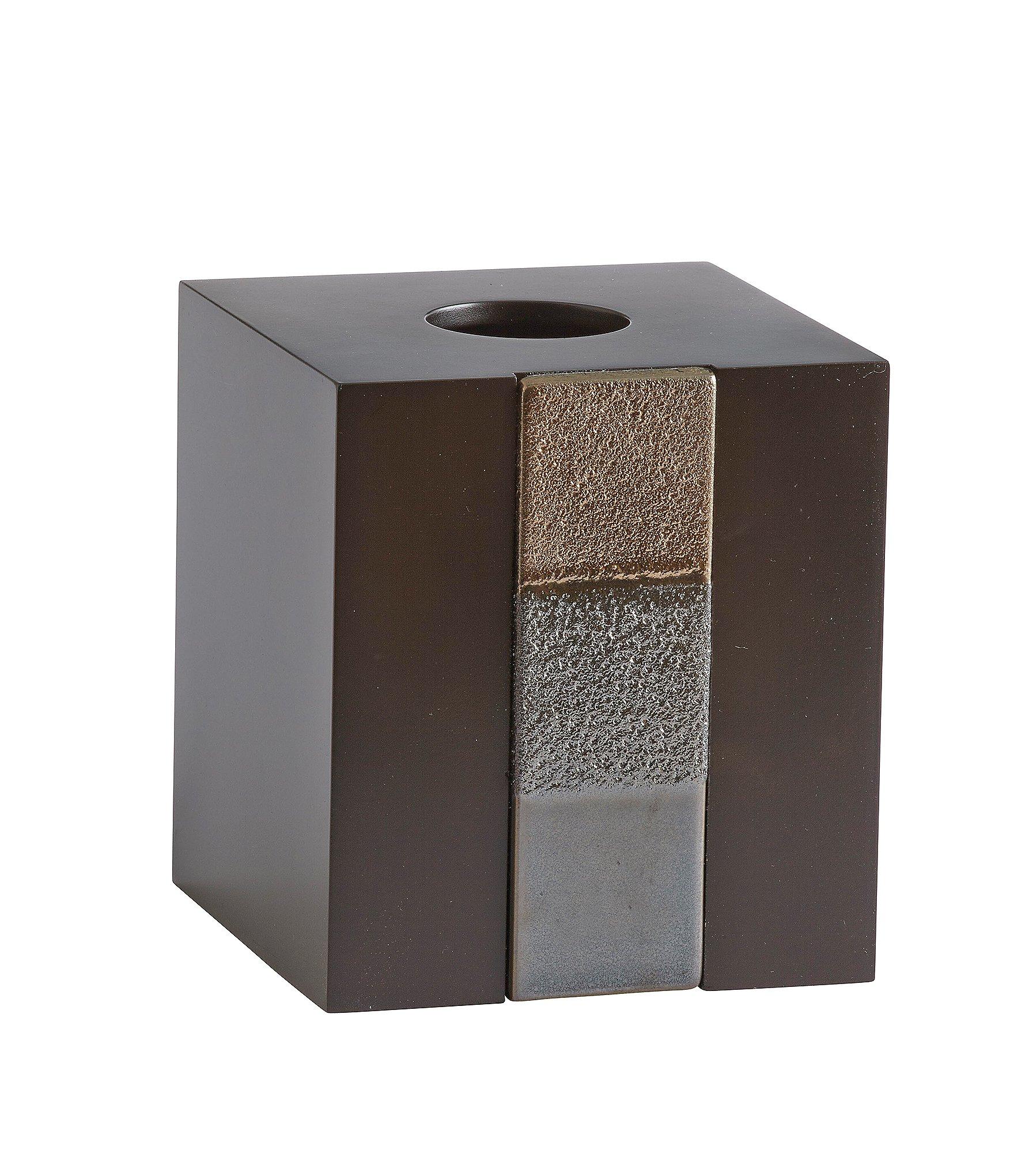 Croscill tribeca tissue holder dillards for Dillards bathroom accessories