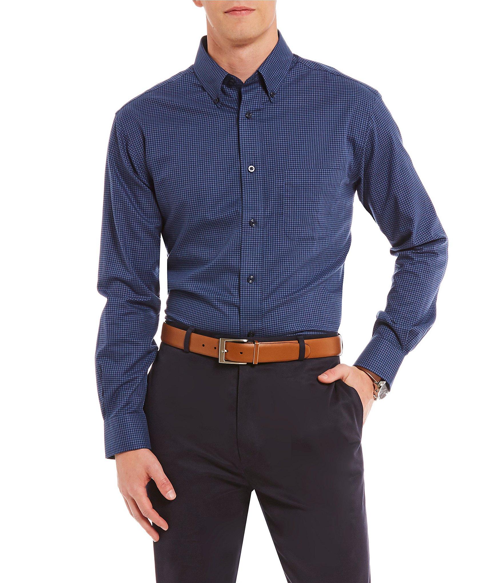Cremieux mens casual button front shirts dillards sciox Images