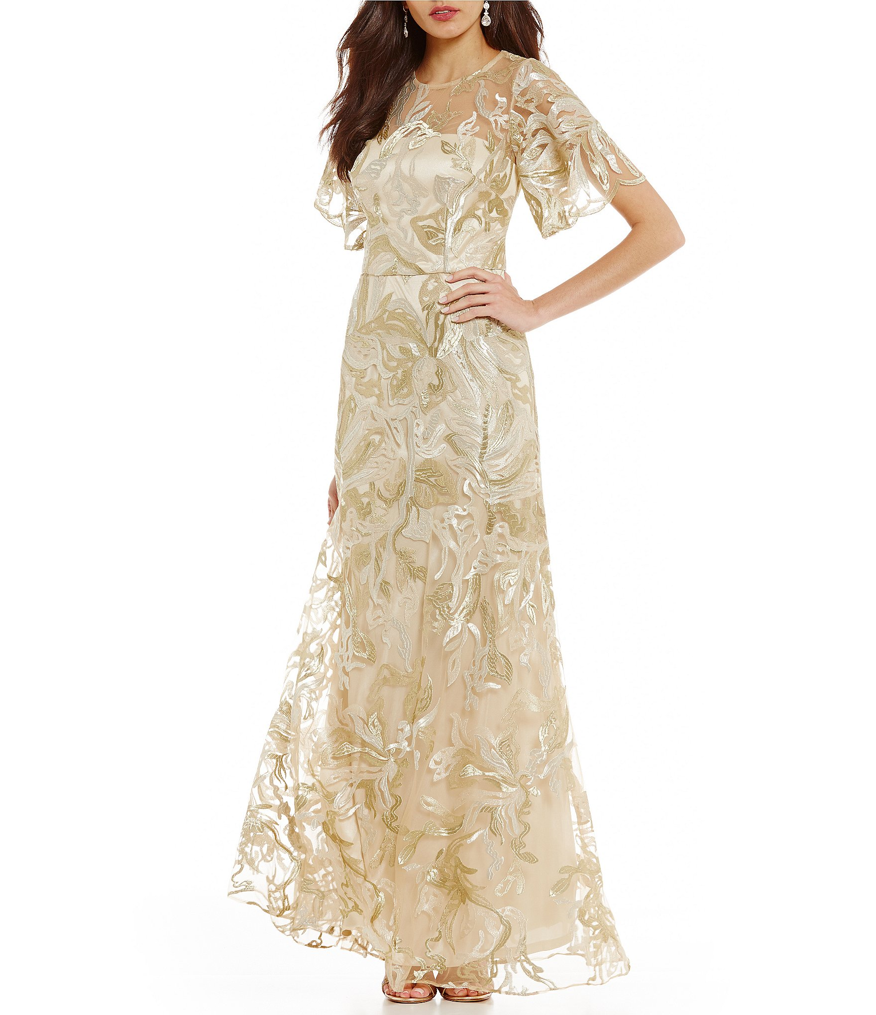 Evening gowns, work wear, party dresses, and pieces for your bridal party are just a few of the items you'll score from our dresses on clearance. Shopping our discount dresses is the best way to land great designer bargains on outfits for every occasion.