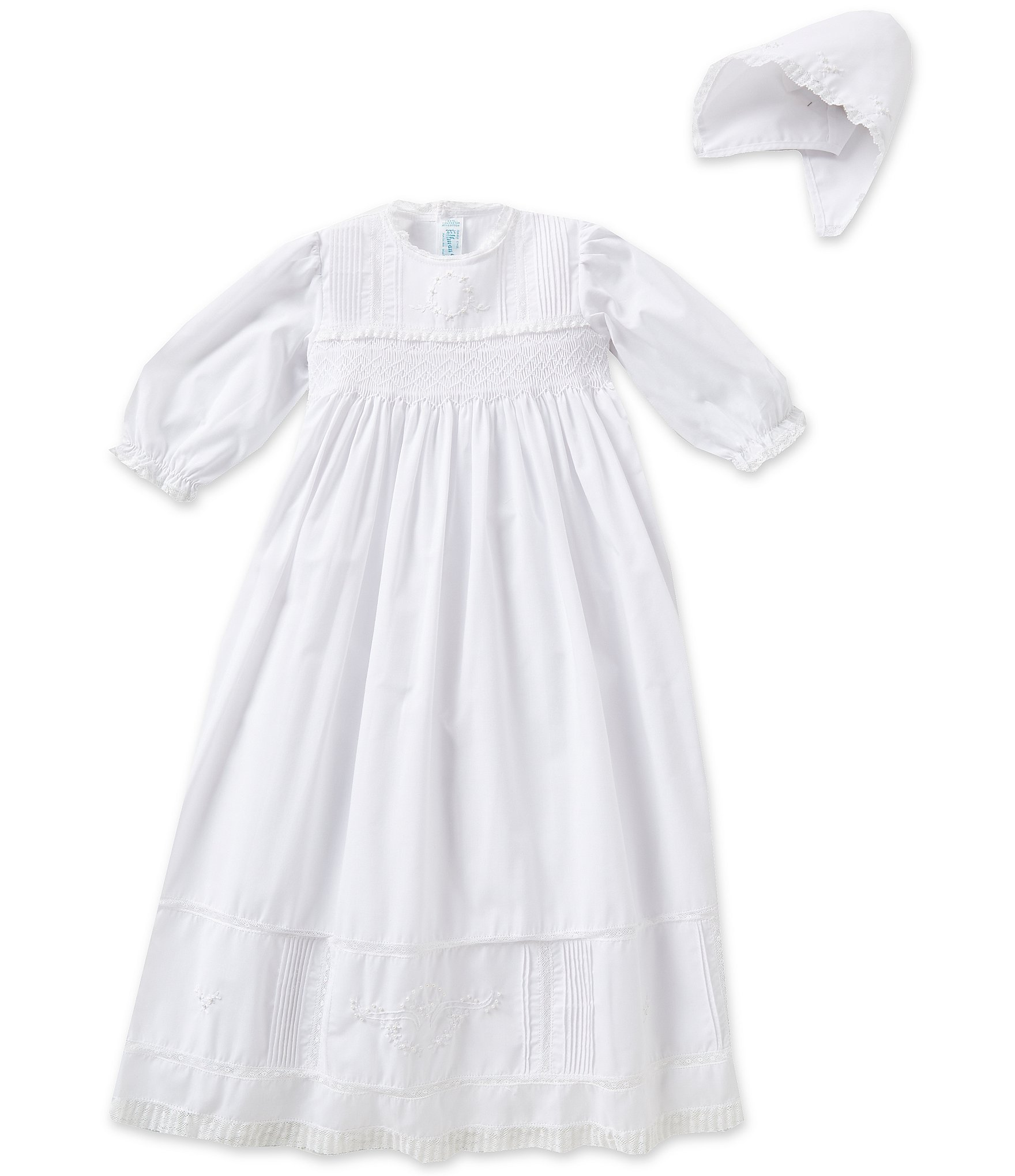 White Baby Girl Christening Dresses Gowns & Accessories