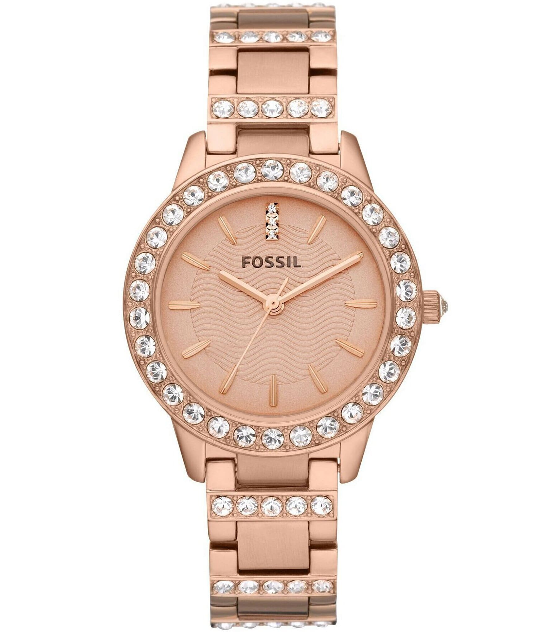 Fossil watches rose gold