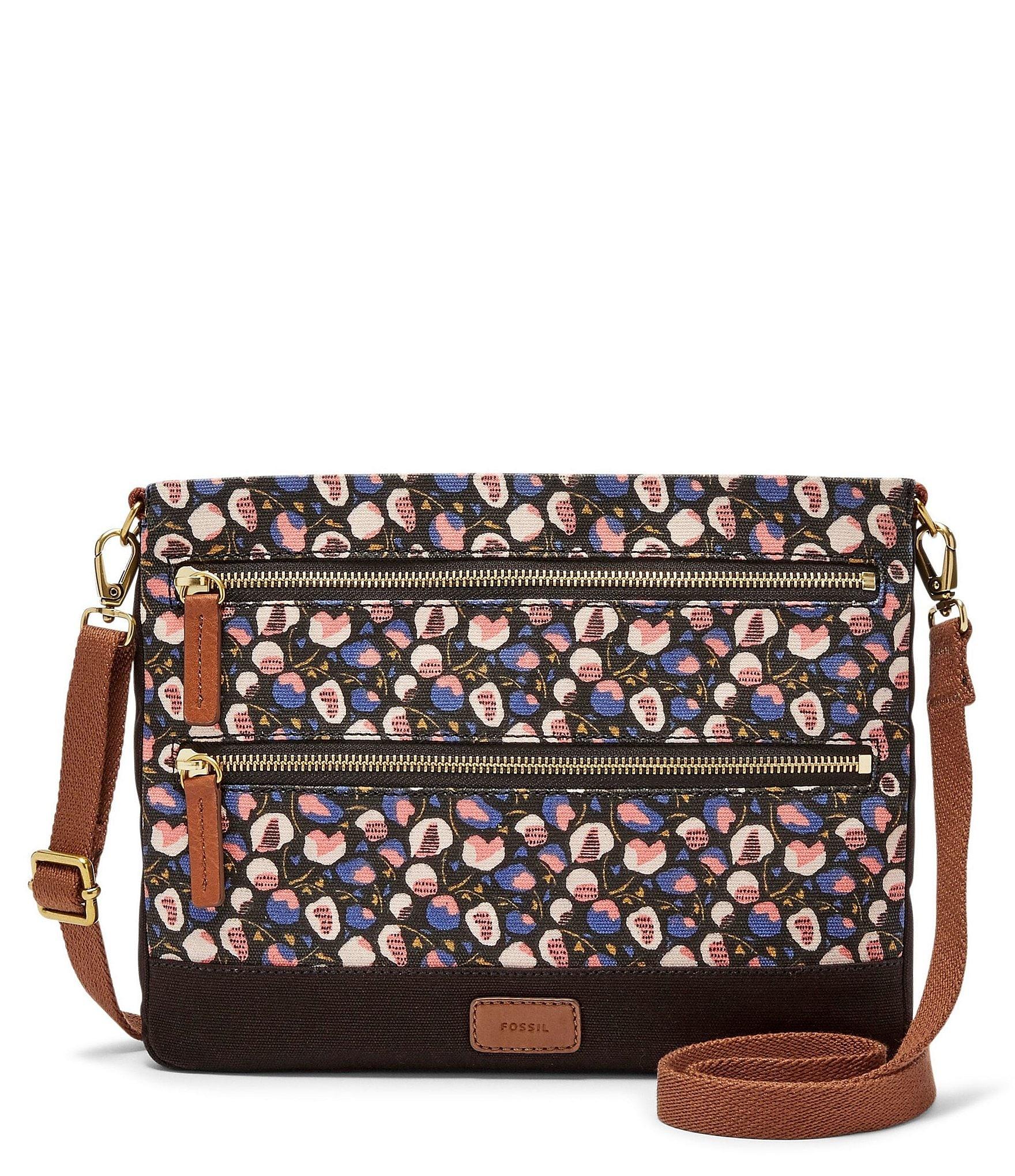 Fossil Passport Floral Cross-Body Bag | Dillards