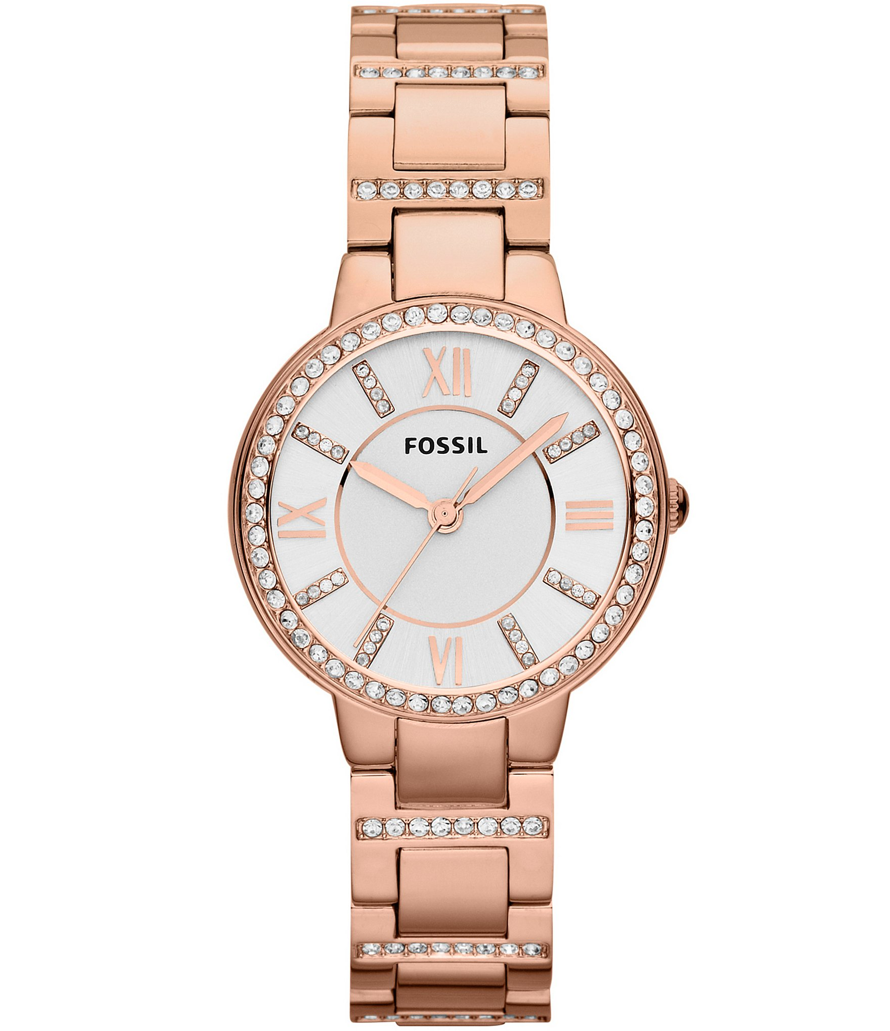 watch bruford georgia products watches ladies strap collections on plated grant quartz fossil w mini leather rose gold