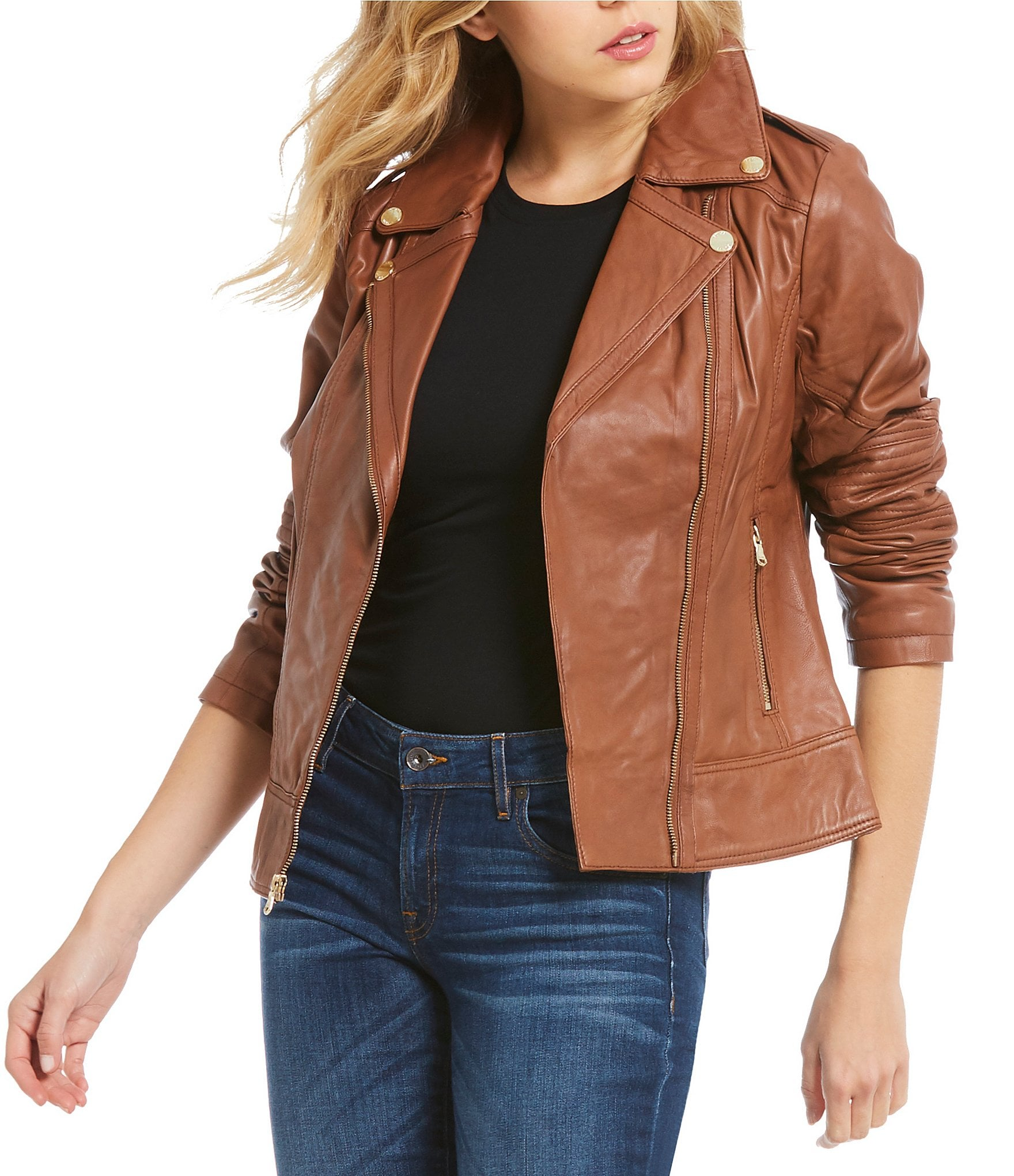 Sale womens leather jackets