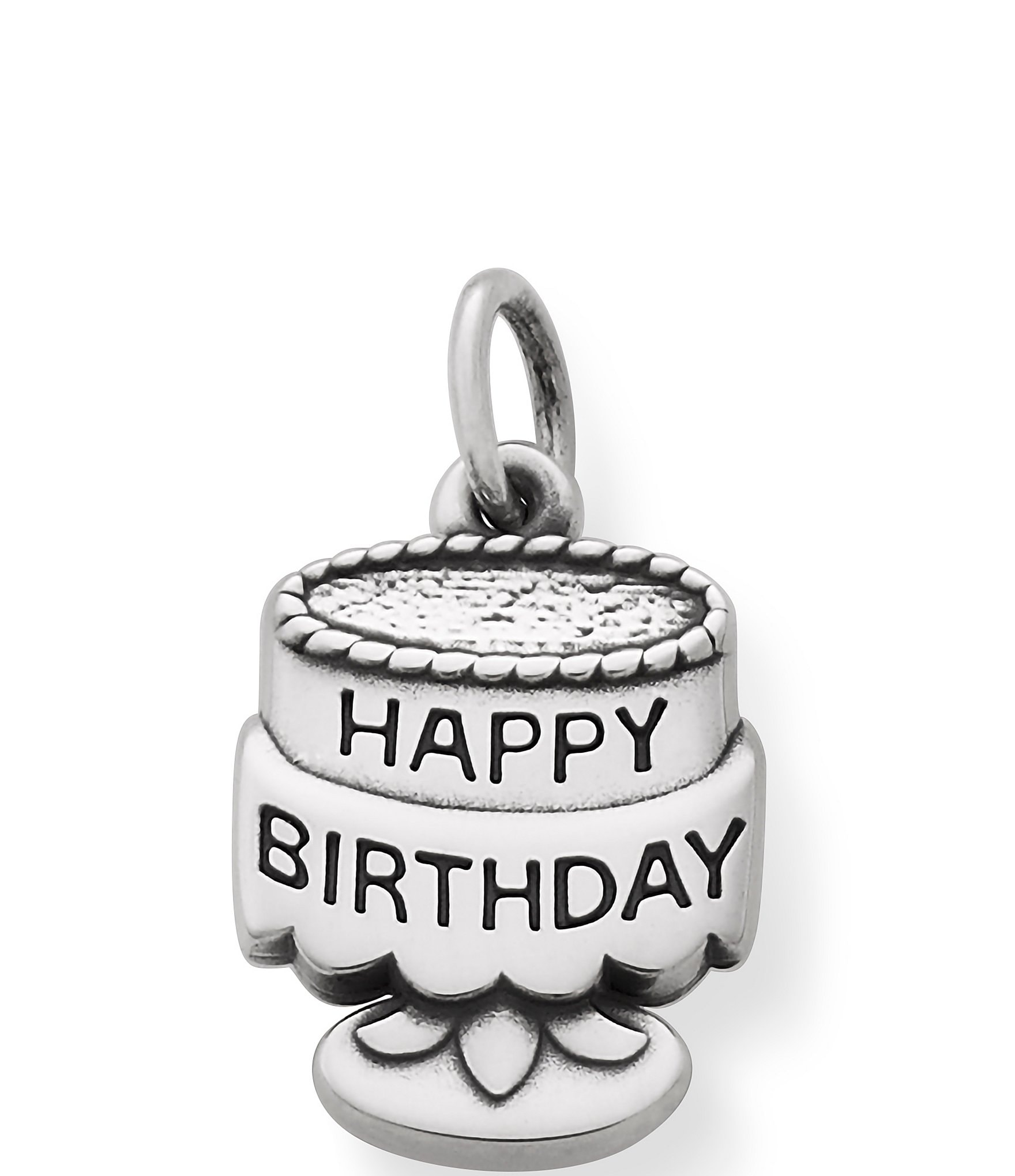 James Avery Sterling Silver Tiny Birthday Cake Charm