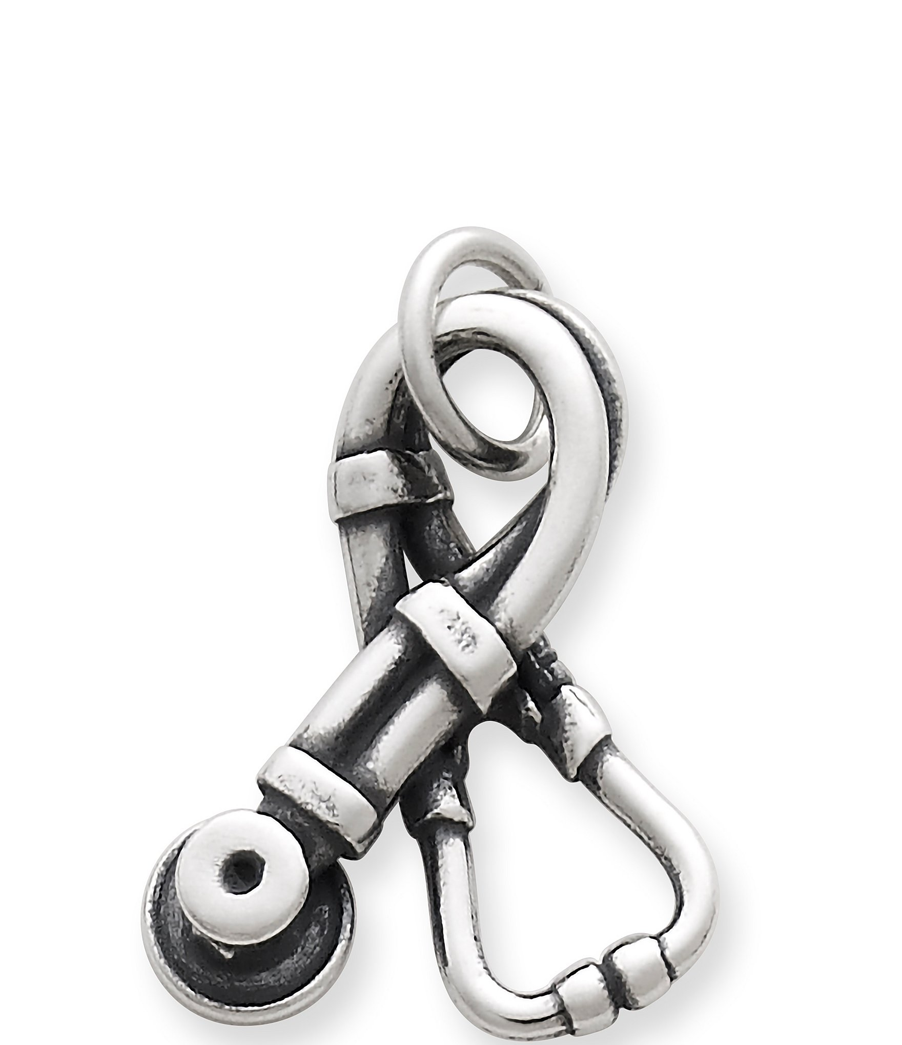 James Avery Stethoscope Sterling Silver Charm Dillards