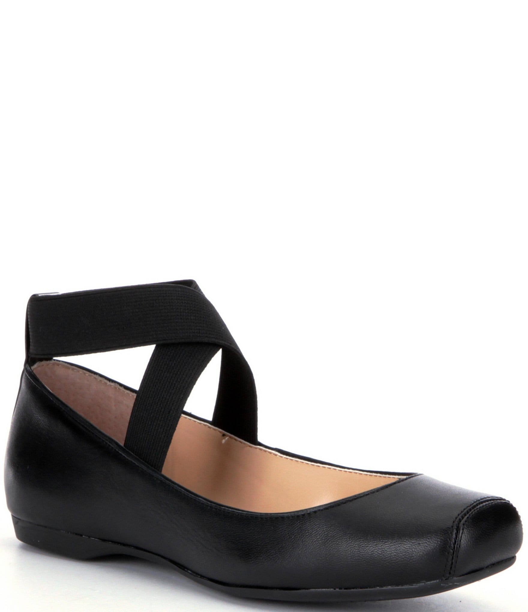 Wonderful Marie Comfort Women Flats Black 1699516 FL