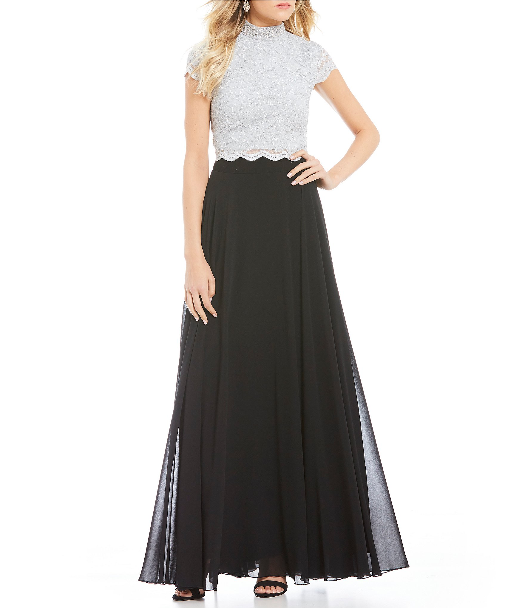 Black long dresses formal