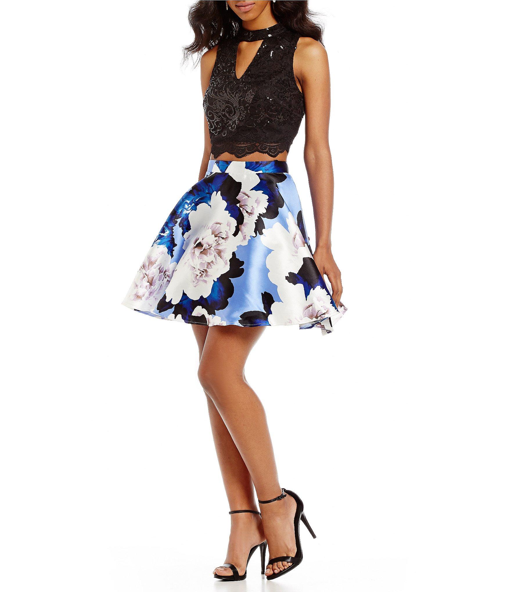 Dillards white junior girl dresses