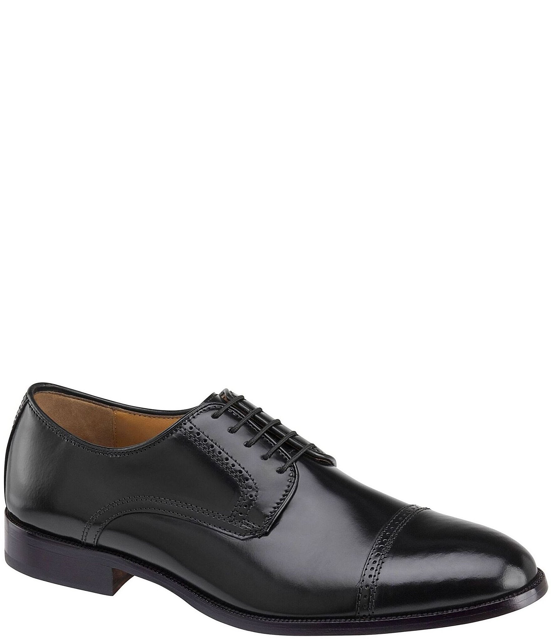NINE2FIVE Classic Penny Loafers  Black  Mens Formal Shoes